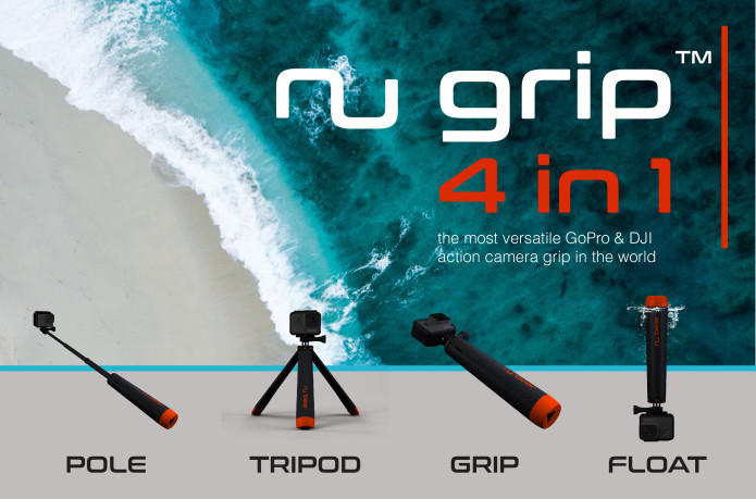 A compact tripod that can be used in four ways [Source: Indiegogo]