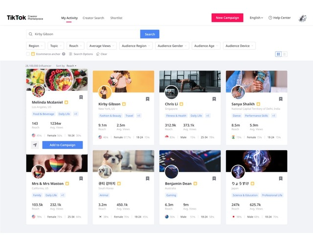 """Photo of TikTok launches """"Creator Marketplace"""" to match advertisers and creators"""