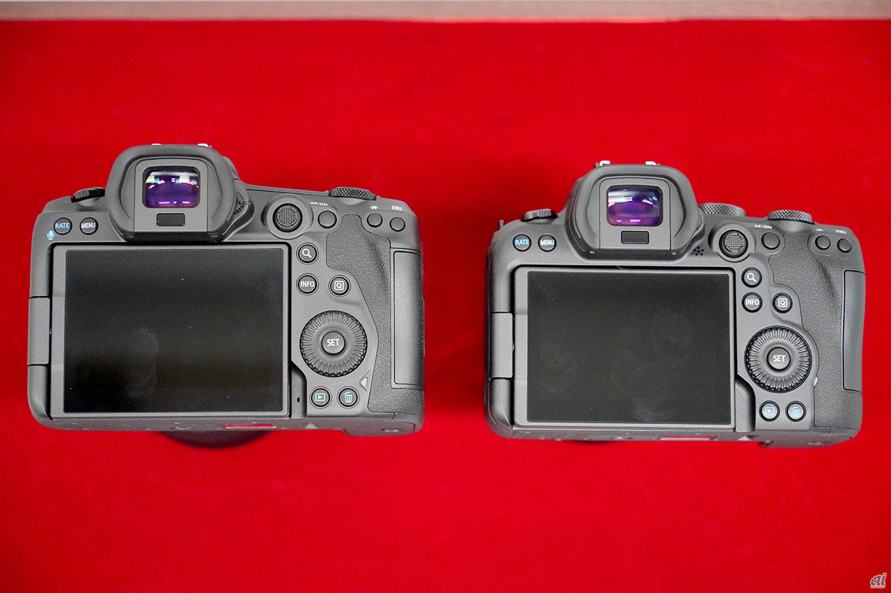 """The operation system of """"EOS R5"""" and """"EOS R6"""" is almost the same"""