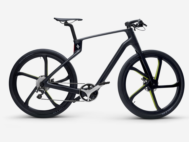"Photo of Custom made about 140,000 yen-What is ""Superstrata"" carbon bike made with 3D printer"