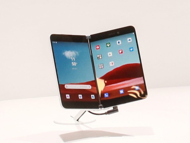 "Photo of Microsoft's two-screen smartphone ""Surface Duo"" will be released soon"