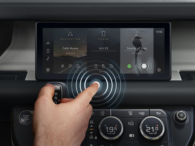 Photo of Jaguar Land Rover, touch-sensitive in-vehicle touch panel–improved safety and infection prevention