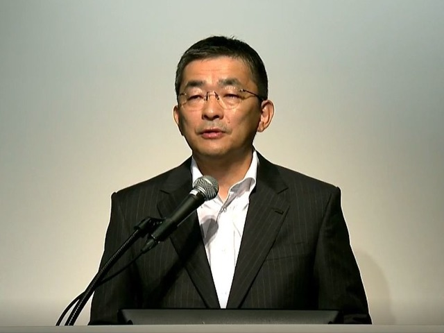 """Photo of KDDI President Takahashi, 5G event was canceled all over the place """"I was ridiculed""""-Also mentioned delay of new iPhone"""