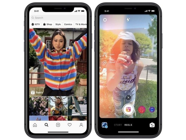 """Photo of Instagram releases 15-second entertainment short video """"reel'' in Japan–to counter TikTok"""