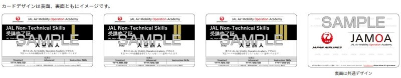 Non-Technical SkillsとTechnical Skillsの2本立て(出典:JAL)