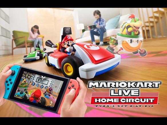 """マリオ switch Nintendo Switch新色""""マリオレッド×ブルー"""