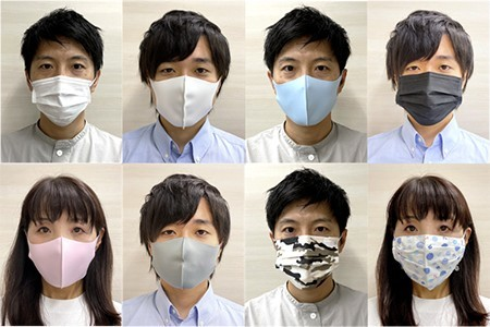 Compatible with masks of various colors and patterns [Source: NEC]