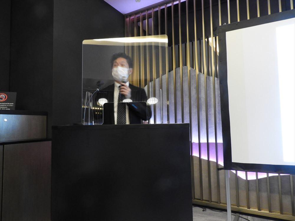 「変なホテル」を展開するH.I.S.ホテルホールディングス株式会社代表取締役の岩間雄二氏