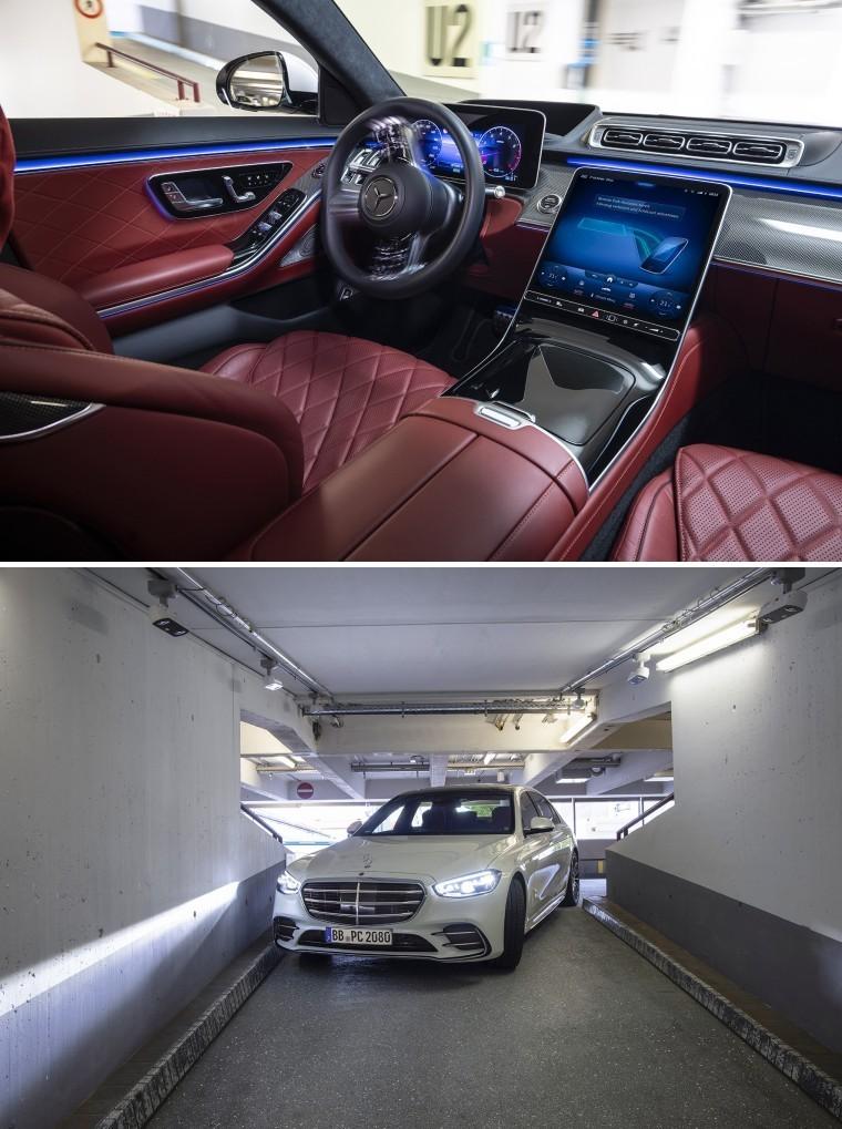 Autonomous driving even in narrow passages [Source: Bosch]