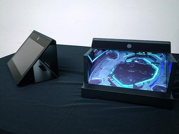 ソニー、裸眼で立体視できるディスプレイ--4K15.6インチで触れられる ...