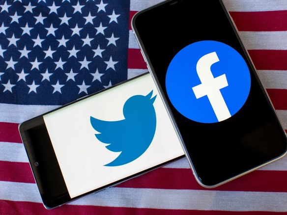 米上院、FacebookとTwitterのCEOを召喚へ--共和党委員のみで採決 ...