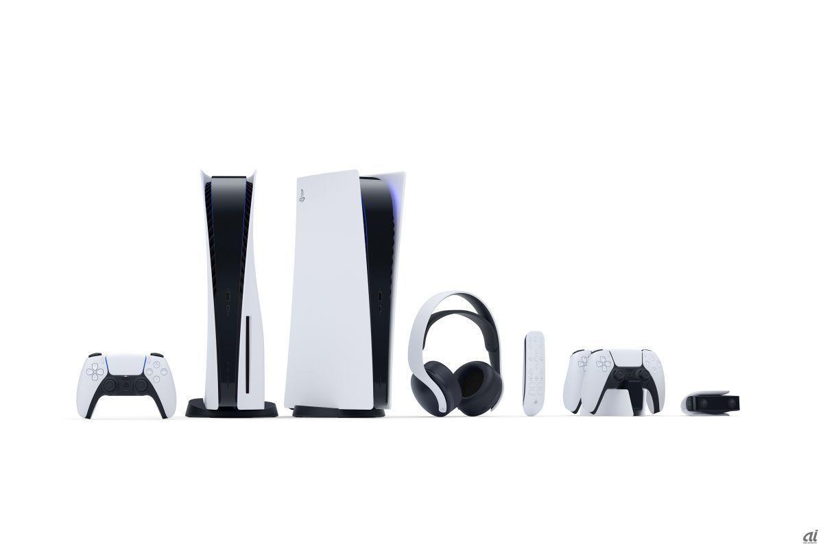 「PlayStation 5」と、その周辺機器