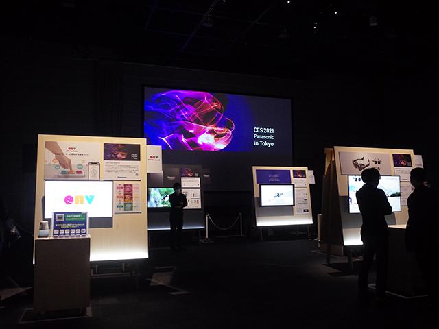 日本市場向けに訴求ができるテーマについては、東京・有明のパナソニックセンター東京に展示会場を構える