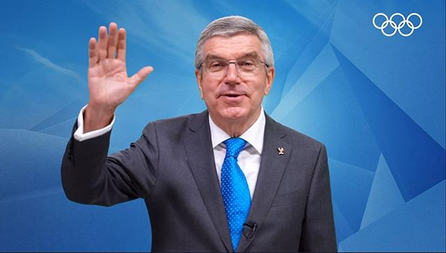 国際オリンピック委員会(IOC)会長のThomas Bach氏