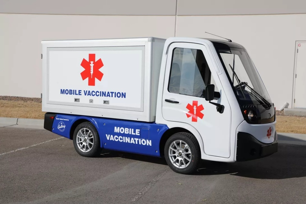 Electric Vaccine Vehicle