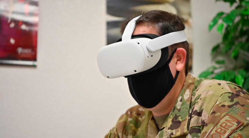 VRヘッドセットを用いたトレーニング