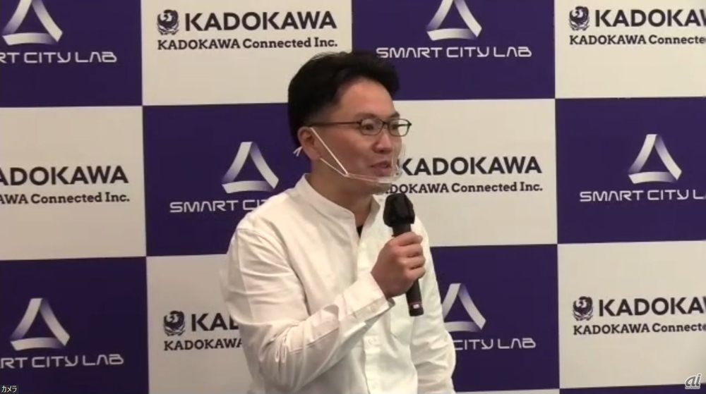 KADOKAWA Connected Customer Success部 部長の菊本洋司氏