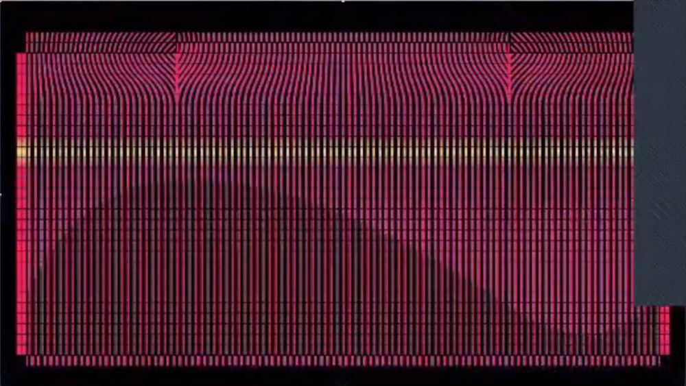 コンピューター上で設計した人工合成タンパク質の配置