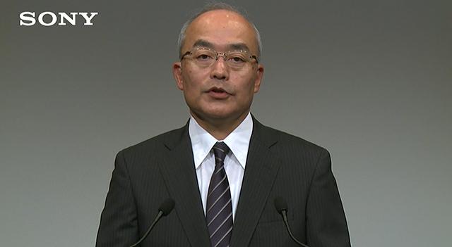 ソニー 副社長兼CFOの十時裕樹氏