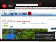 8-Bit NYC is the coolest map--ever | The Digital Home - CNET News