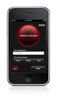 GriffinのiPhoneアプリ「iTalk」