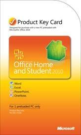Office 2010の新しい購入オプションの1つである「プロダクトキーカード」。これを使えば、新しいPC上のWordとExcelのベーシック版をアップグレードできる。