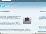 Twitter Blog: Twitter for iPhone