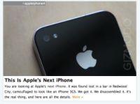 大騒動を巻き起こした小さなガジェット。GizmodoはiPhone 4Gのスクープを大々的に宣伝した。