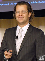 Adobeオムニチュアビジネスユニット担当上級副社長兼ゼネラルマネージャーのJosh James氏