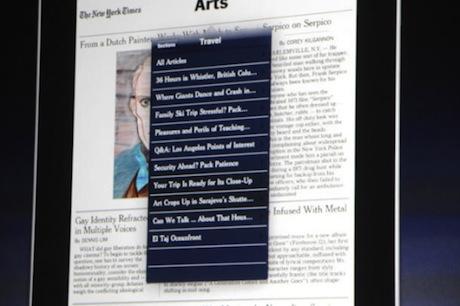 iPadアプリケーション