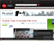 Facebook, Zynga: We get along! Pinky swear! | The Social - CNET News