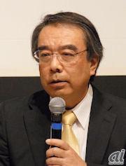 JASRAC常務理事の菅原瑞夫氏
