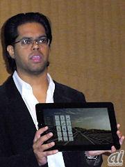 Fusion Garage Founder & CEOのChandrasekar Rathakrishnan氏