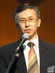 メディアフロージャパン企画取締役でクアルコムジャパン代表取締役会長兼社長の山田純氏