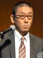 メディアフロー放送サービス企画代表取締役社長でKDDIグループ戦略部部長の神山隆氏