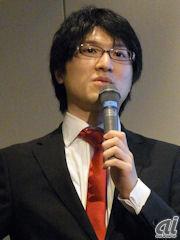 オトバンク代表取締役社長の上田渉氏