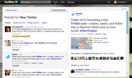 Twitterは米国時間9月14日、ウェブサイトの全面リニューアルを発表した。新サイトではさまざまなコンテンツを別の表示ペインで閲覧できる。ツイートのタイムラインのメイン表示画面から移動しなくてもいいようにすることで、サイトの価値を高めることがねらいだ。