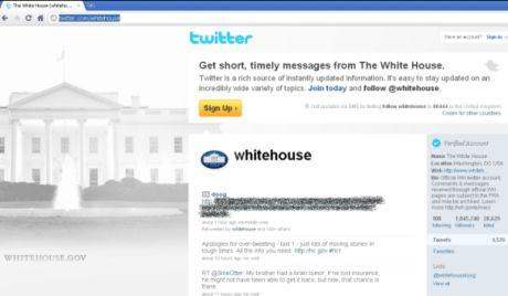 21日午前、Twitterの数多くのページがワームを拡散させていることが判明した。その中にはホワイトハウスのページも含まれていた。