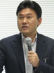 楽天代表取締役会長兼社長の三木谷浩史氏