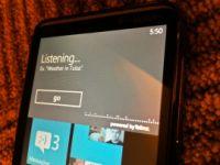 Windows Phone 7でのTellme音声検索