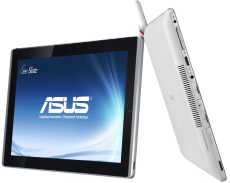 ASUSの新タブレット「Eee Slate EP121」は「Windows 7」を搭載。