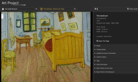Googleが2月に入って発表した「Google Art Project」は、世界有数の17の美術館の所蔵作品を世界中の人々に届ける取り組みだ。
