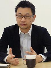 ジェイド代表取締役の秋里英寿氏