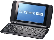 699gでAndroid 2.2搭載の「NEC LifeTouch NOTE」をレビュー