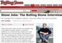 Steve Jobs氏はRolling Stonesのインタビューで、音楽業界のリーダーたちを「テクノロジを知らない人々」と呼んでいた。雑誌や新聞のパブリッシャーの幹部についてはどう思うだろうか。