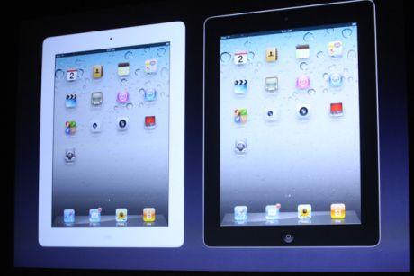 Appleの「iPad 2」。