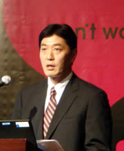 マカフィー、コンシューマ事業本部長の中山泰宏氏画像