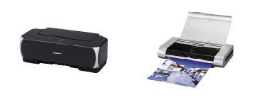 「PIXUS iP2500」(左)「PIXUS iP90v」(右)