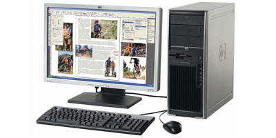 HP xw4550/CT Workstation