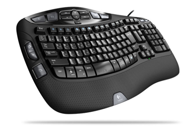 Logicool Wave Keyboard